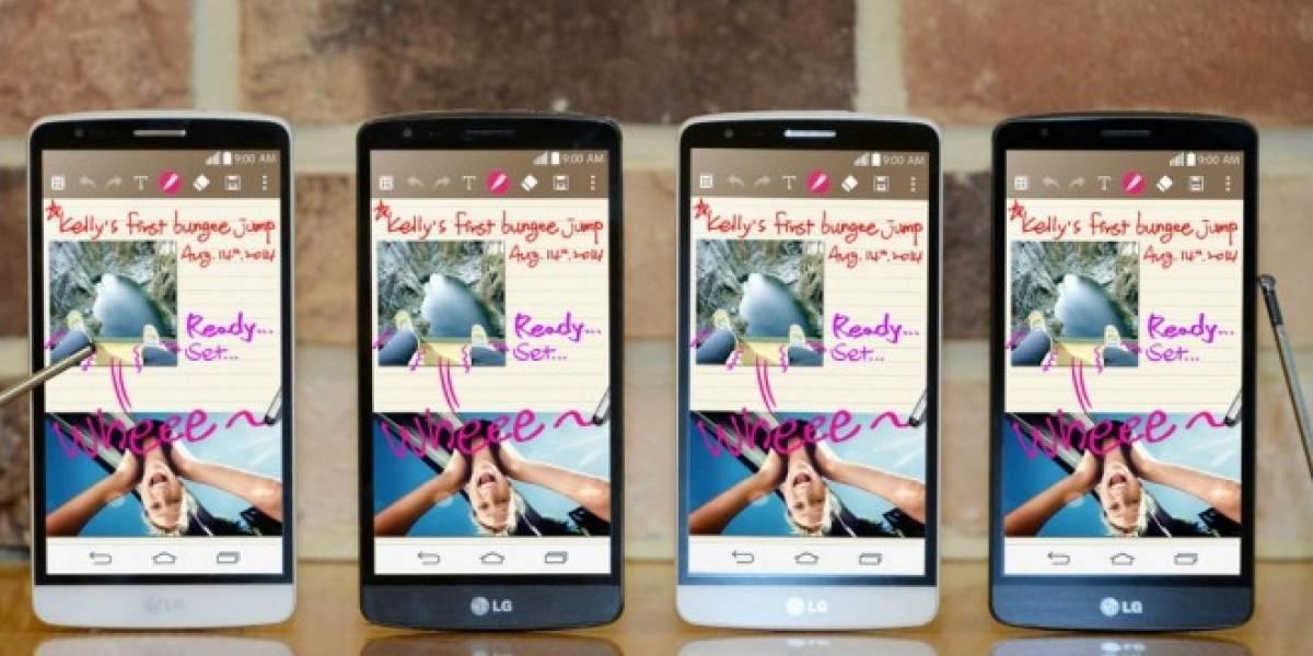 LG anuncia oficialmente el G3 Stylus