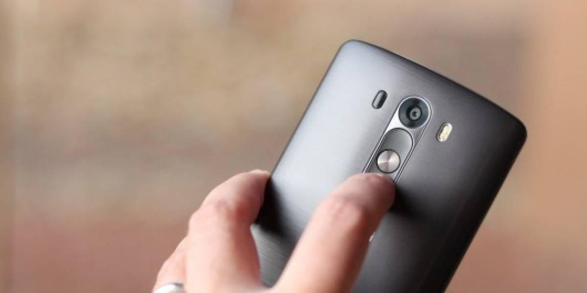 LG G4 podría tener un lector de huellas dactilares