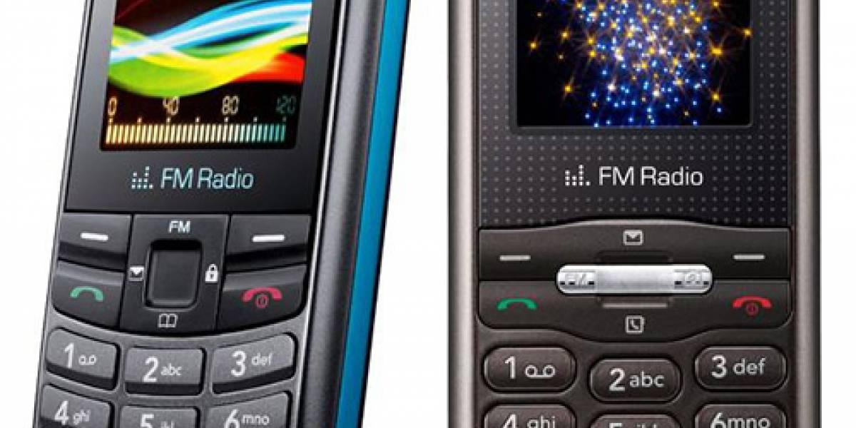 LG GB106 y GB110: Para hablar y casi nada más