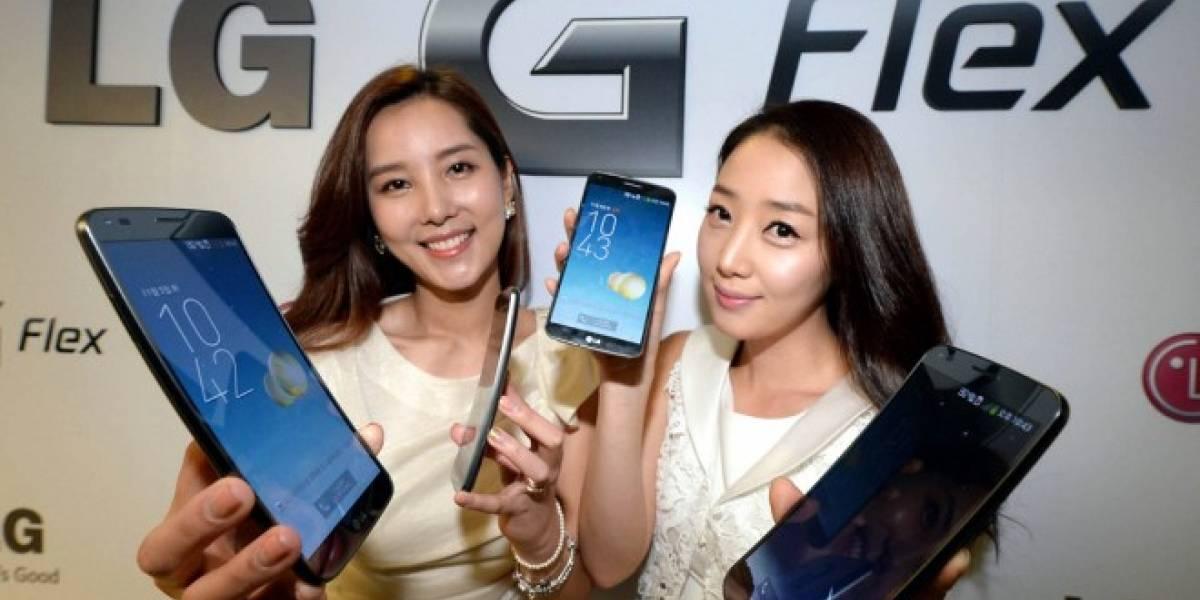 Android 4.4 KitKat dotará al LG G Flex con grabación de video en 4K