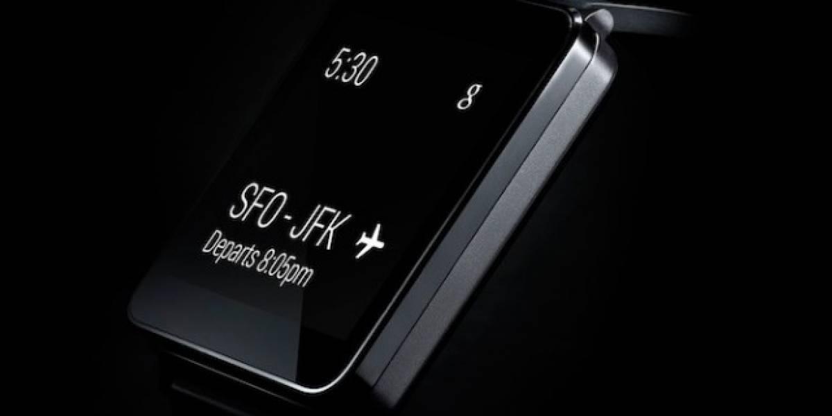 LG G Watch se lanzará antes de julio