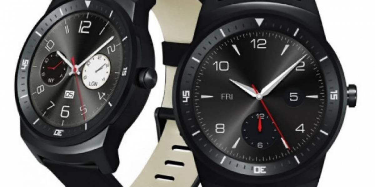 LG G Watch R sale al mercado el próximo 14 de octubre