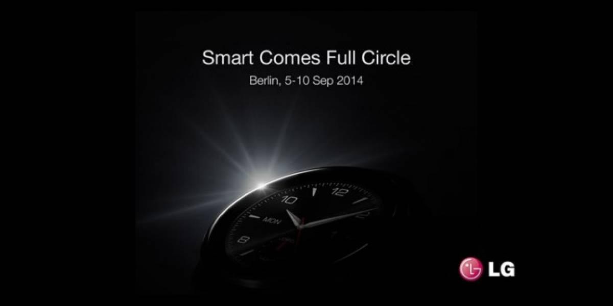 LG deja entrever un poco su nuevo G Watch R en Facebook