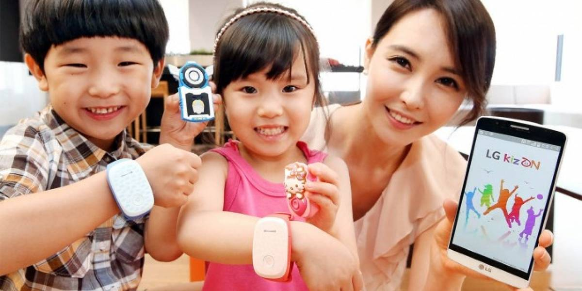 LG lanza una pulsera que permite a los padres rastrear a sus hijos