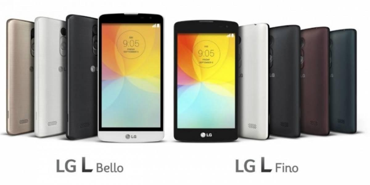 LG presenta sus nuevos L Fino y L Bello