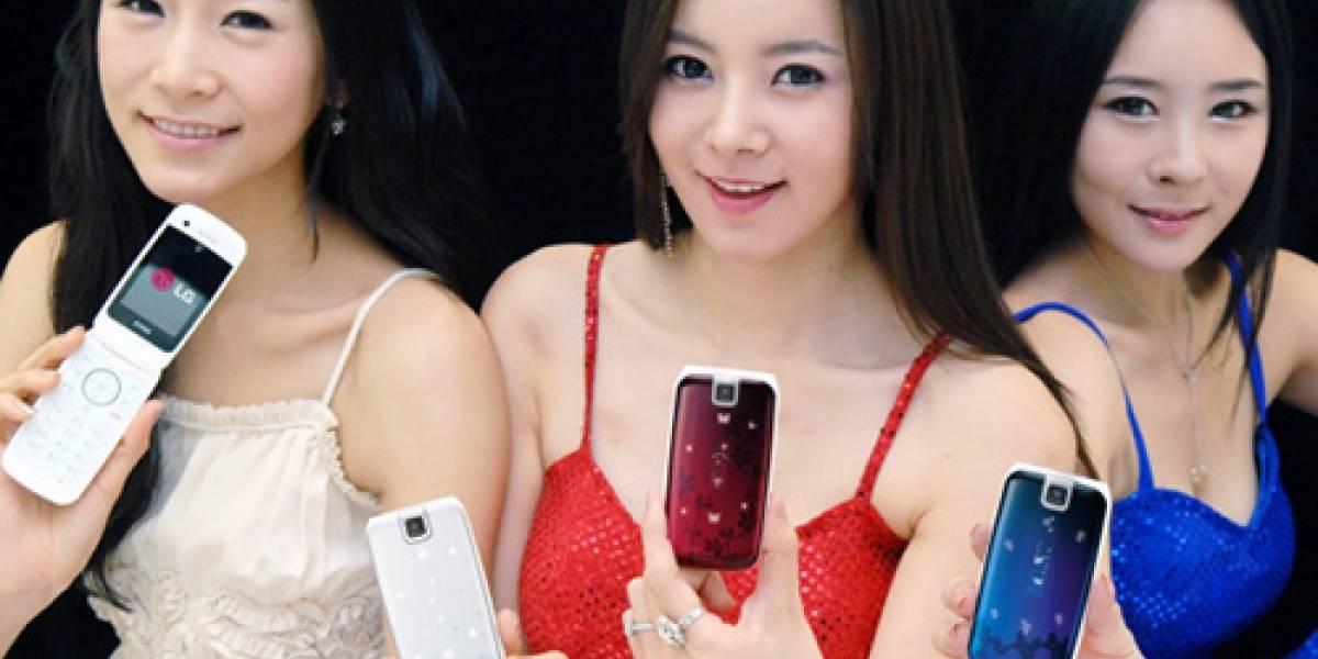 El LG SH490 es un bonito teléfono para ellas