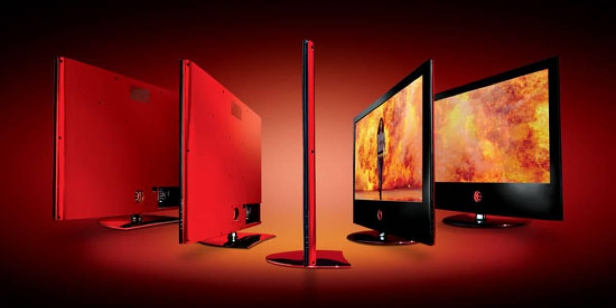 LG Scarlet LGX: Una televisión flaquita