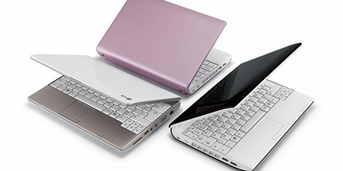 LG se sube al carro de los netbooks con el LG Momo