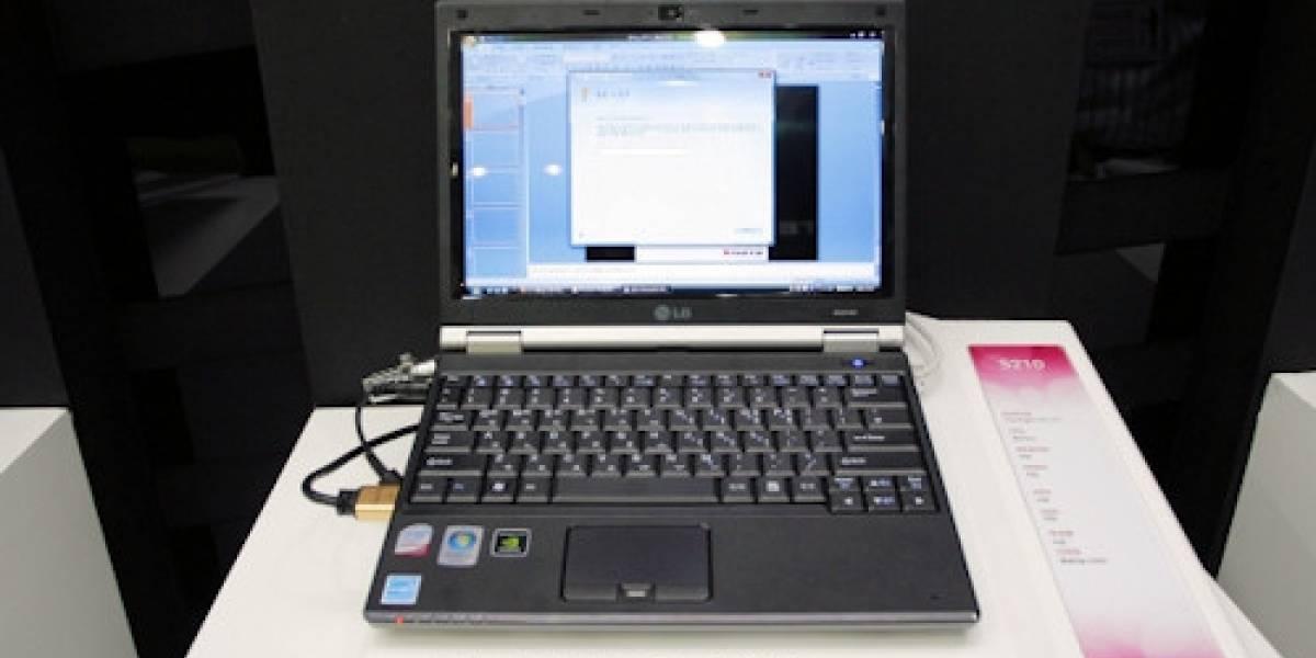 LG XNOTE S210, un portátil muy pequeño y muy potente