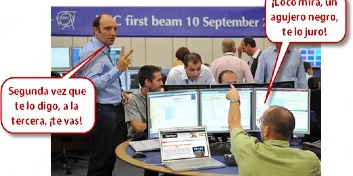 Puesta en marcha del Gran Colisionador de Hadrones LHC todo un éxito