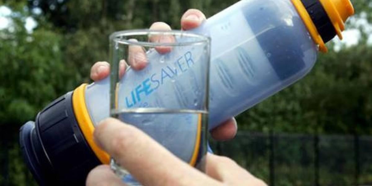 LifeSaver: Agua ultrapura en cualquier parte