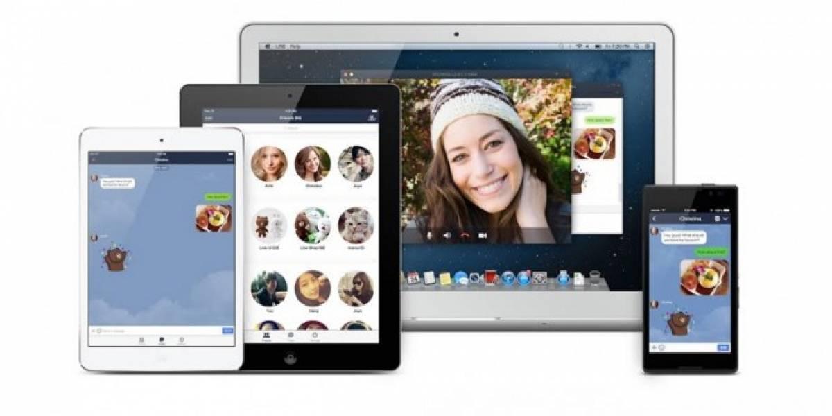 LINE para iPad ya está disponible en el App Store