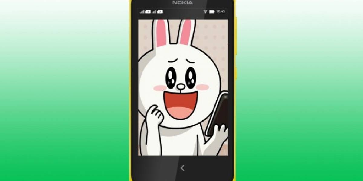 LINE vendrá pre-instalado en equipos Nokia con Android