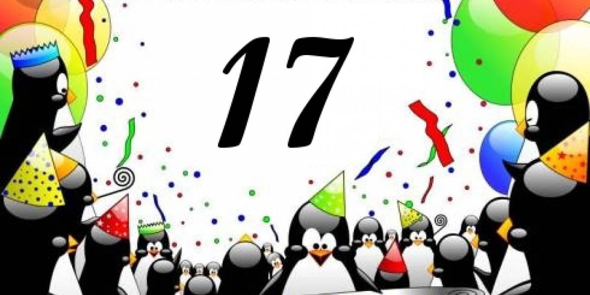 Linux cumplió 17 años