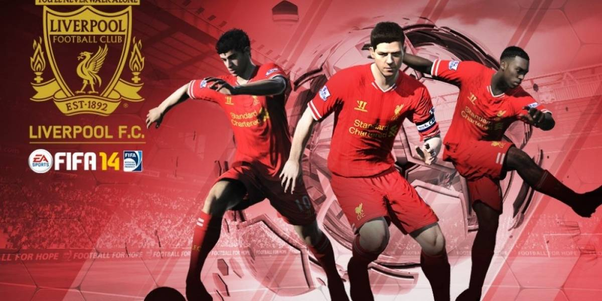 El Liverpool FC también será socio oficial de FIFA 14