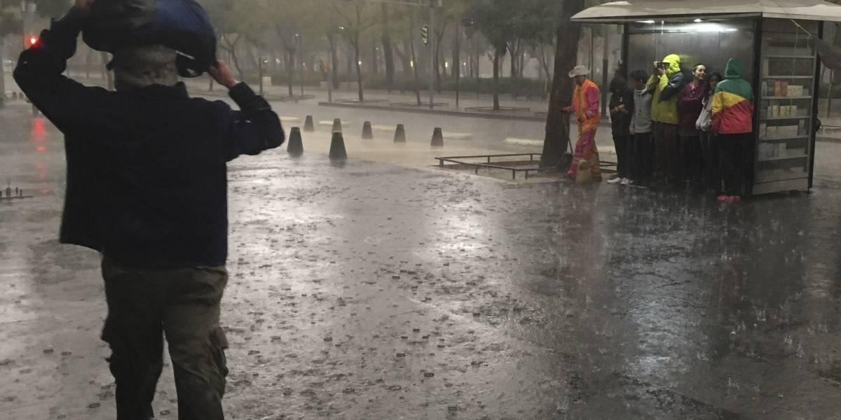 Prevén lluvias y ambiente frío en gran parte del país
