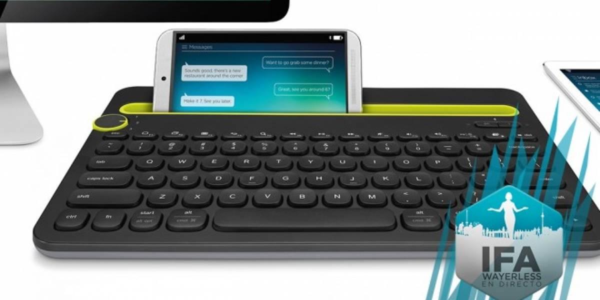 Logitech lanza un teclado para tablets, smartphones y PCs #IFA2014
