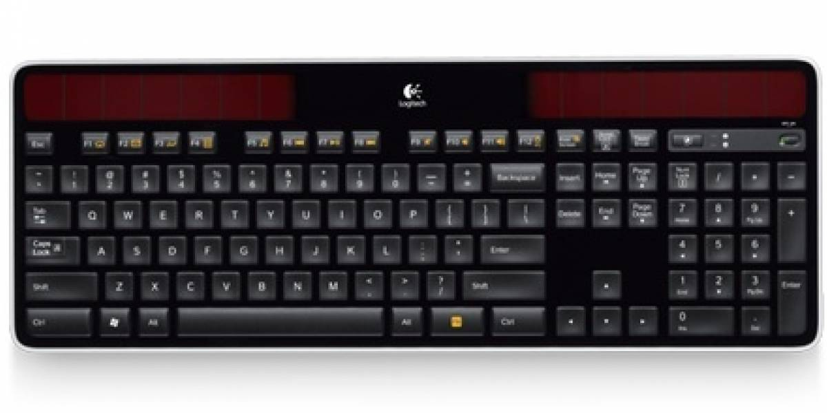 Logitech anuncia teclado alimentado por luz solar