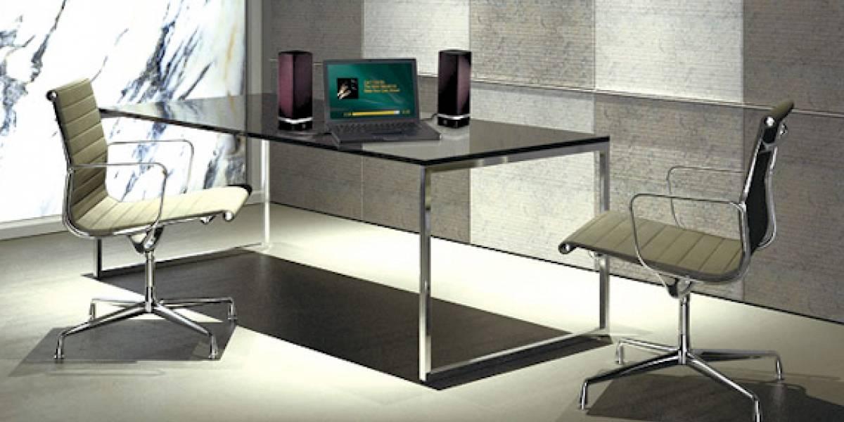 Logitech Z-5, parlantes omnidireccionales USB
