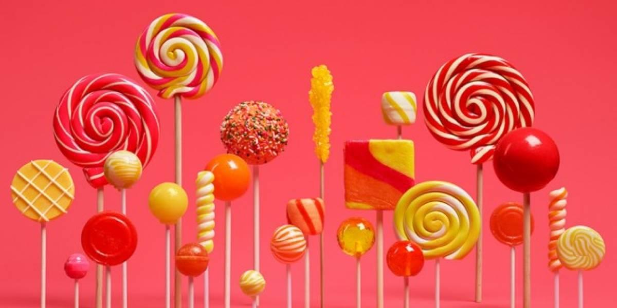 Android 5.0 Lollipop es presentado oficialmente por Google