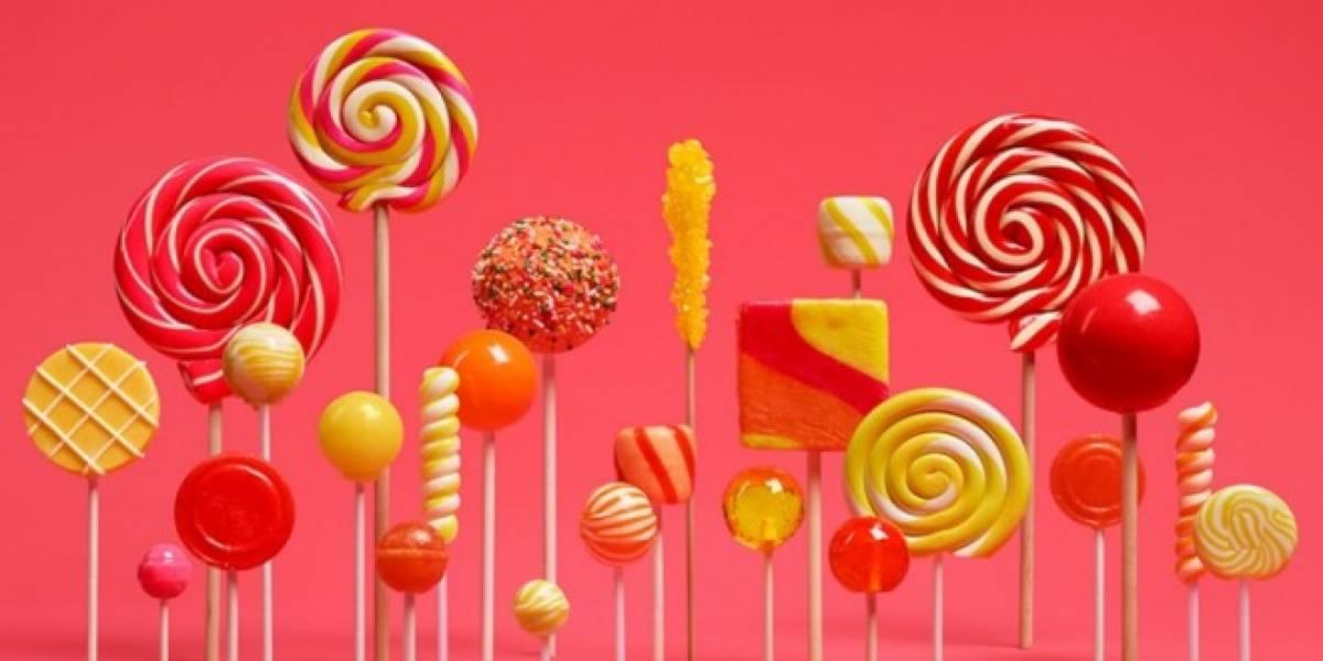 Android Lollipop por fin aparece en los números de Google