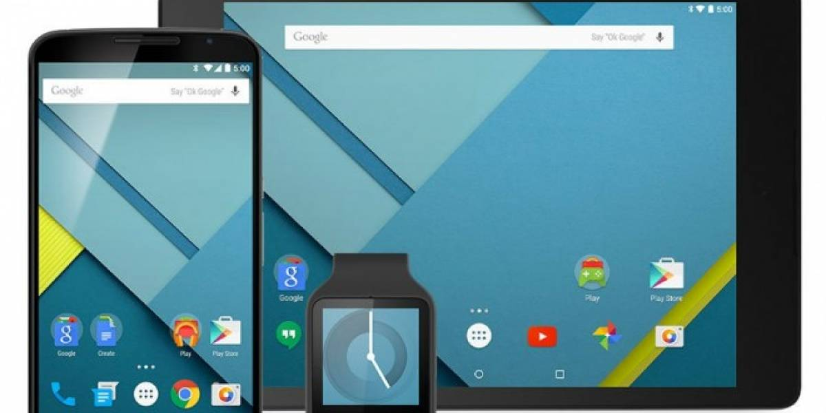 Ya está disponible el SDK de Android 5.0 Lollipop