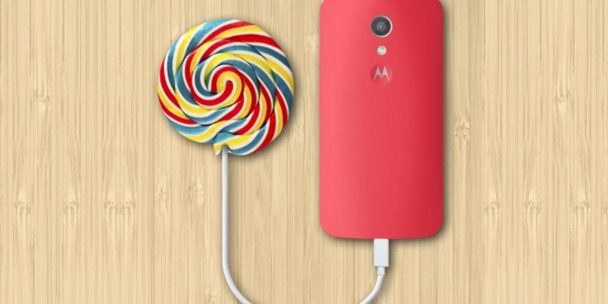 Moto G de primera generación ya comenzó a recibir Lollipop en India