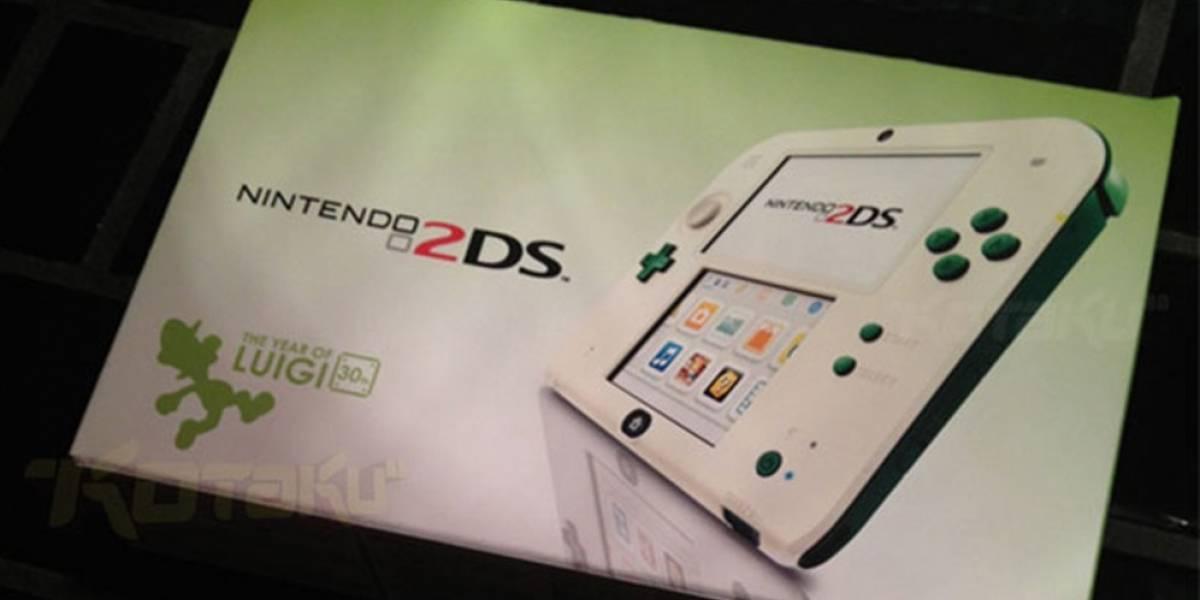 Nintendo podría tener preparada una 2DS de Luigi