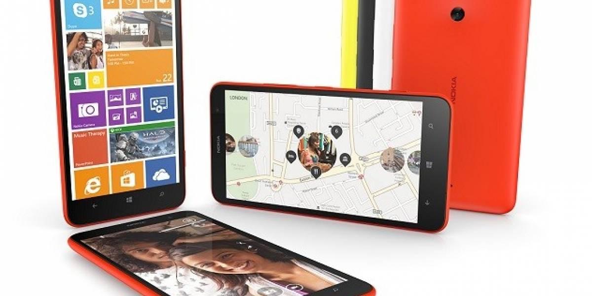 Nokia Lumia 1320 aterriza en Entel