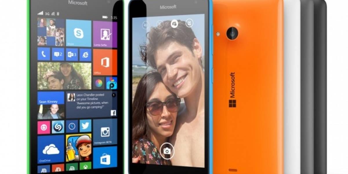 Microsoft Lumia 535 toma la gama media