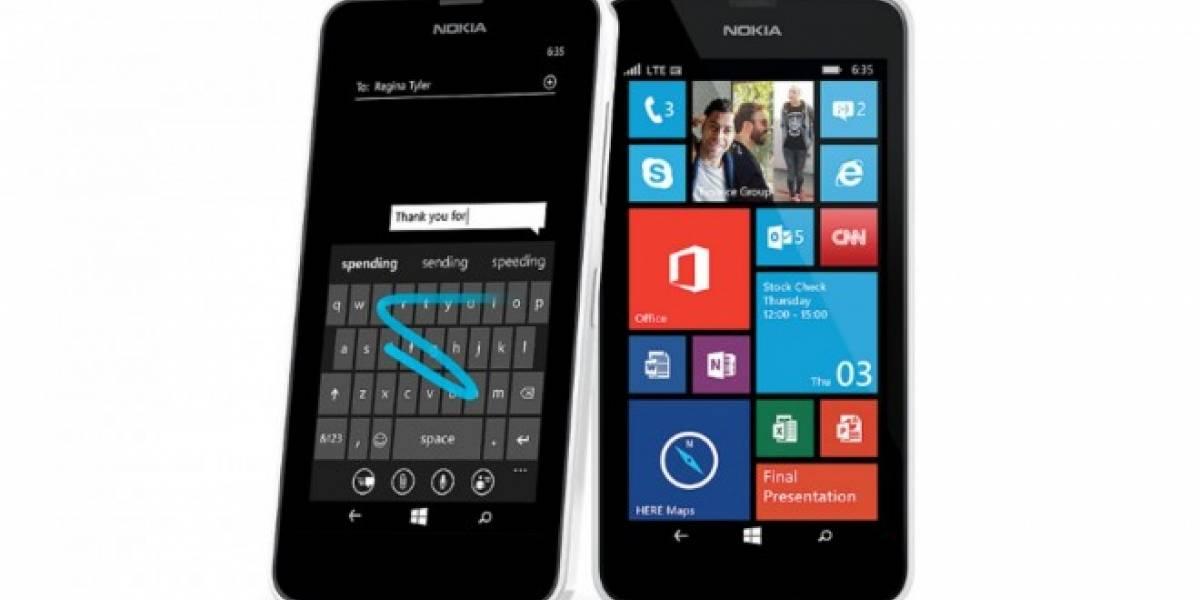 Microsoft podría presentar un Lumia 635 con 1GB de memoria RAM