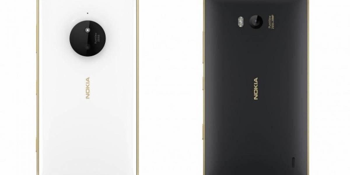 Microsoft anuncia edición dorada de los Lumia 830 y Lumia 930