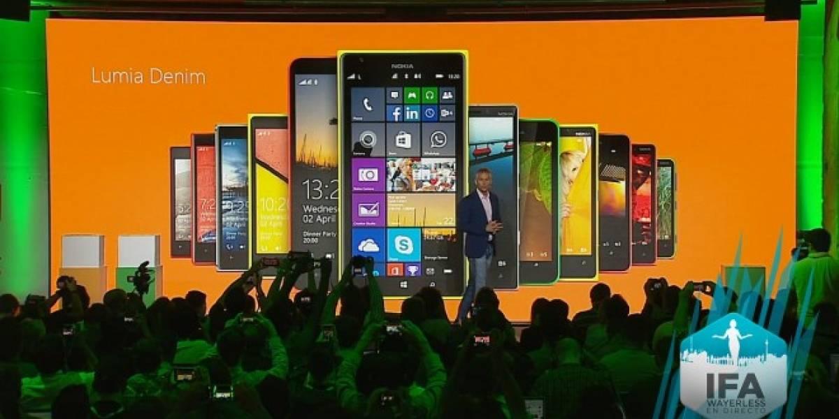 Microsoft anuncia la actualización Lumia Denim #IFA2014