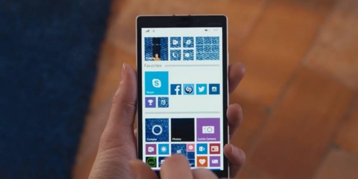 Algunos teléfonos Lumia sólo actualizarán el nombre del firmware a Lumia Denim