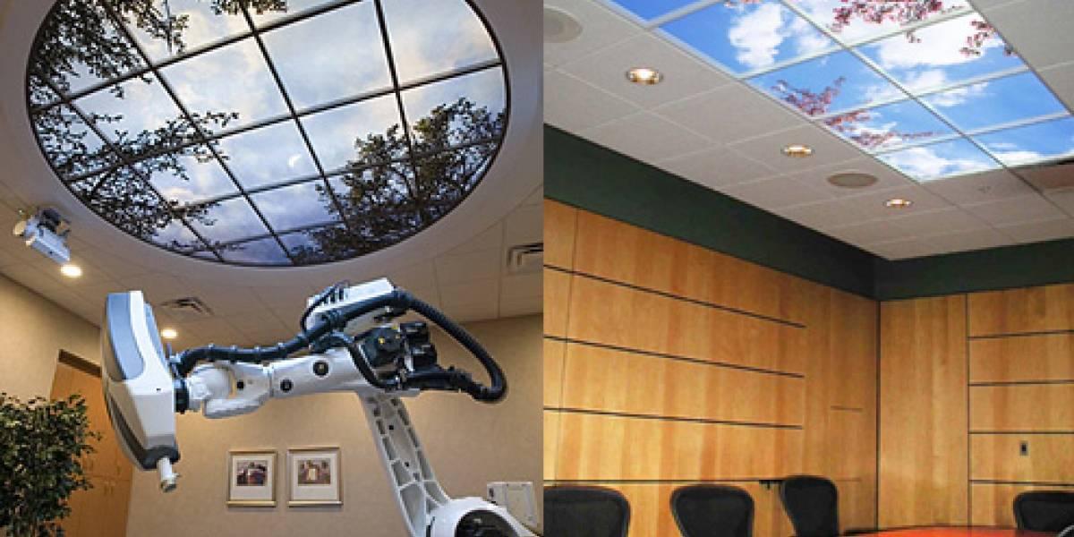 SkyFactory: Poniendole vista exterior a tu oficina