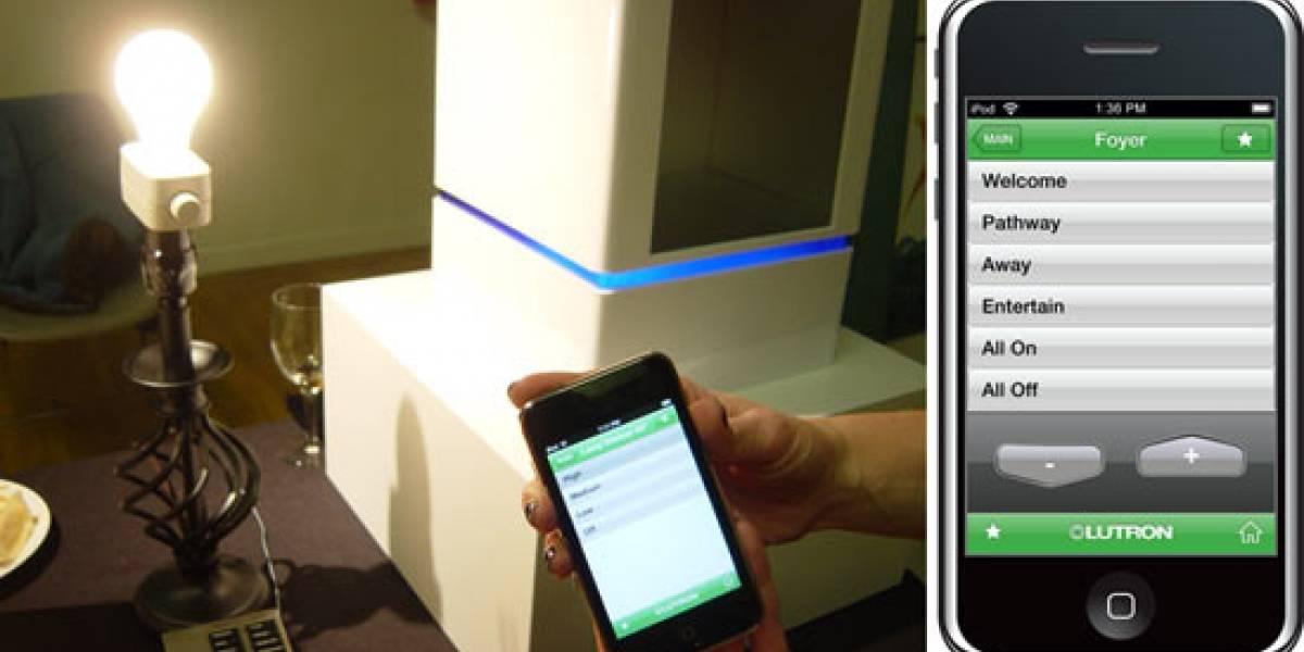Aplicación para el iPhone permite controlar la iluminación del hogar