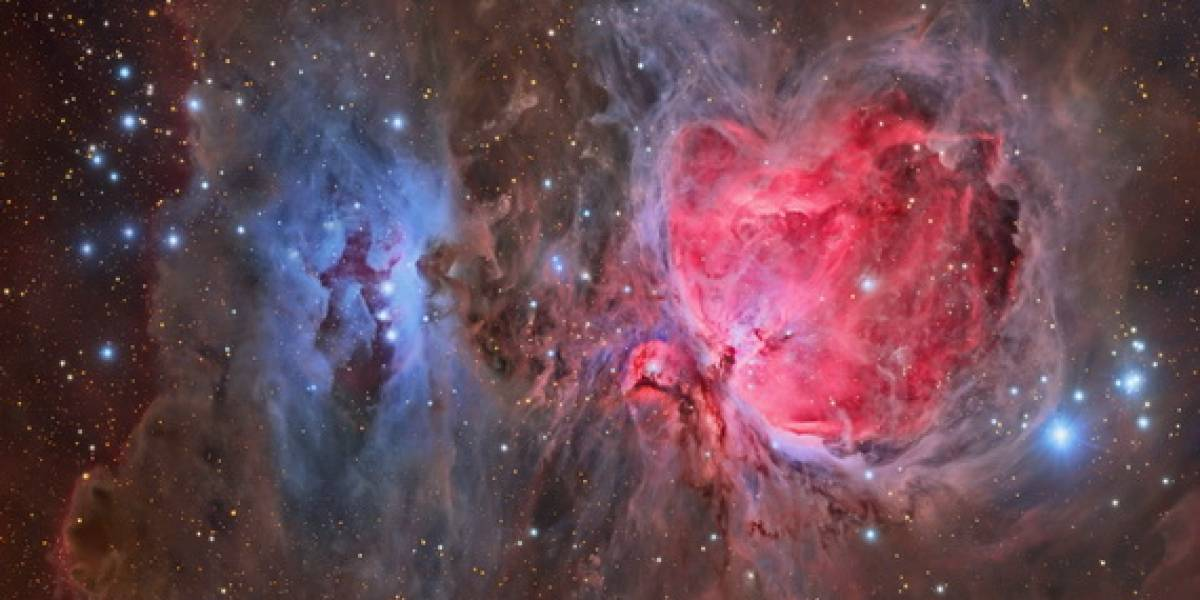 La increíble nebulosa de Orión