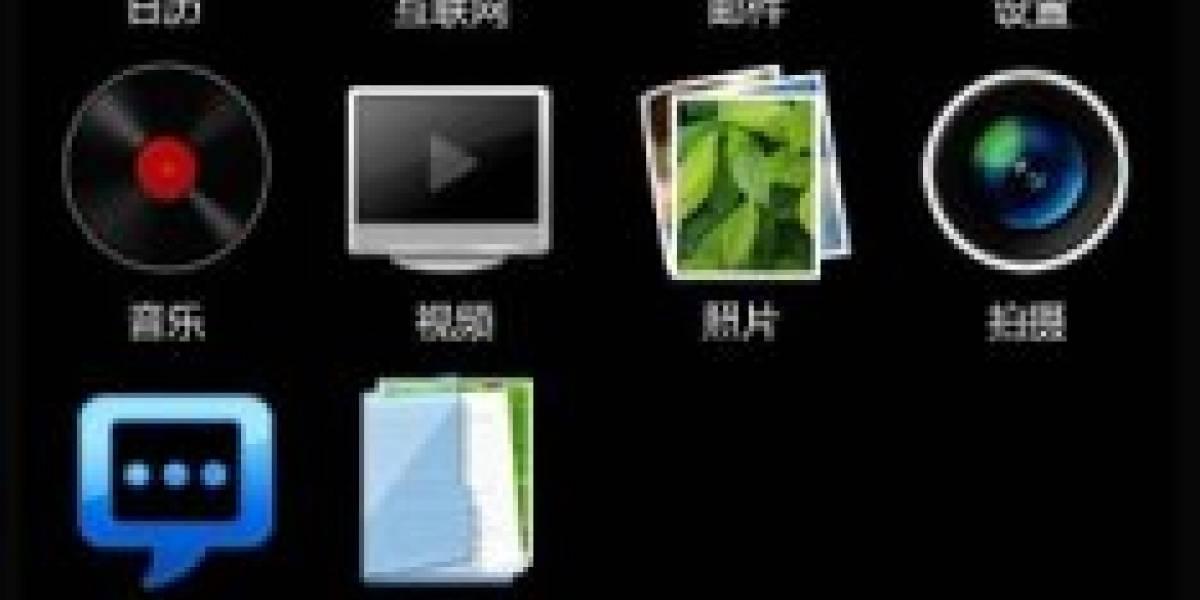 Demostración en flash de la interfaz del Meizu M8