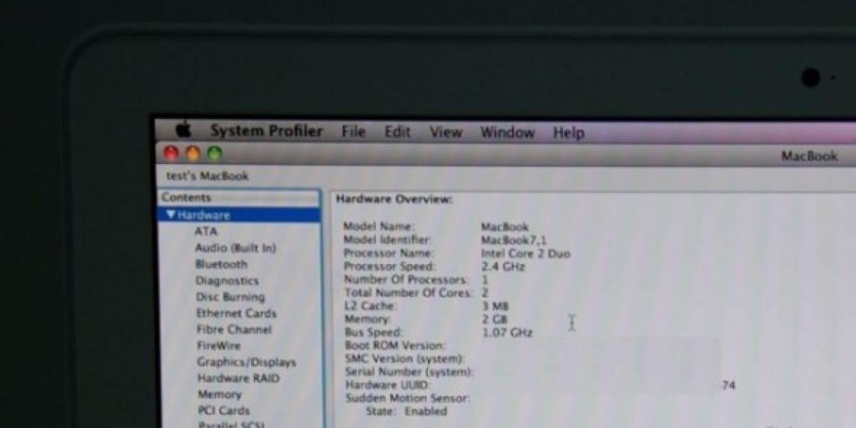 Macbook Unibody recibiría actualización menor