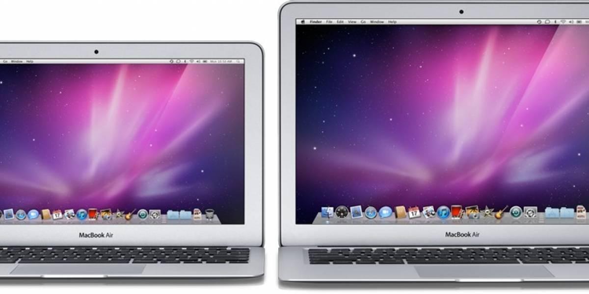 Nuevos MacBook Air: Más rápidos, pero no agregan puertos USB