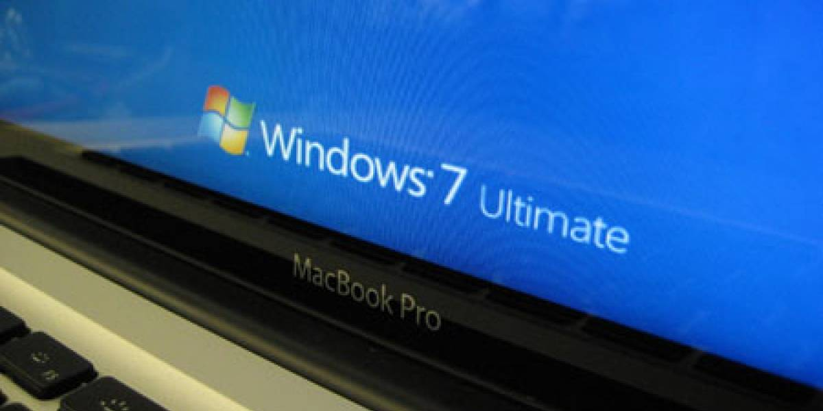 Windows 7 sobre MacBook Pro