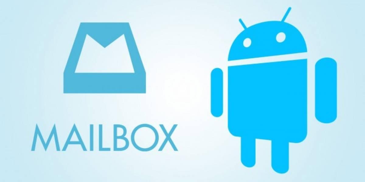 Mailbox para Android ya es oficial