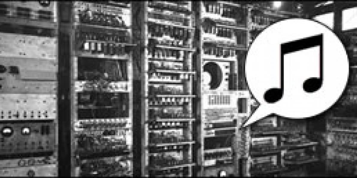 El primer registro de música generada por un computador