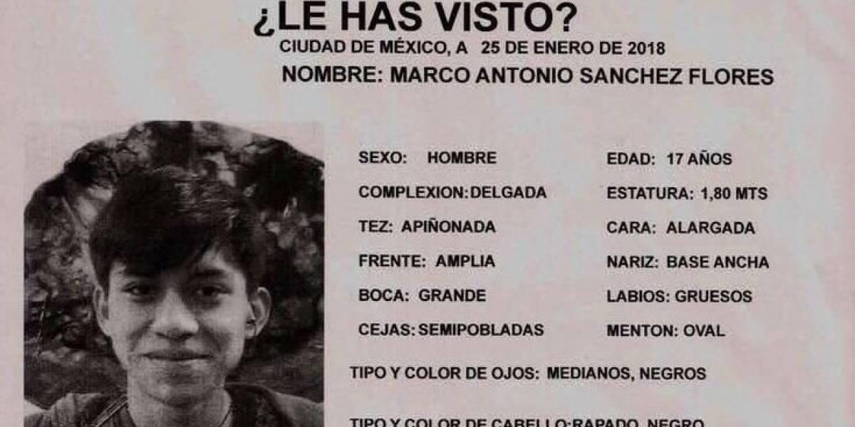 Cámaras de vigilancia ubican a Marco Antonio en Tlalnepantla el sábado