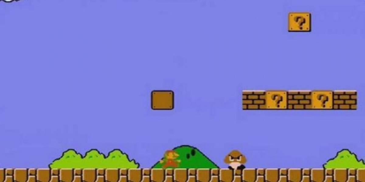 Sujeto termina Super Mario Bros. con el menor puntaje posible