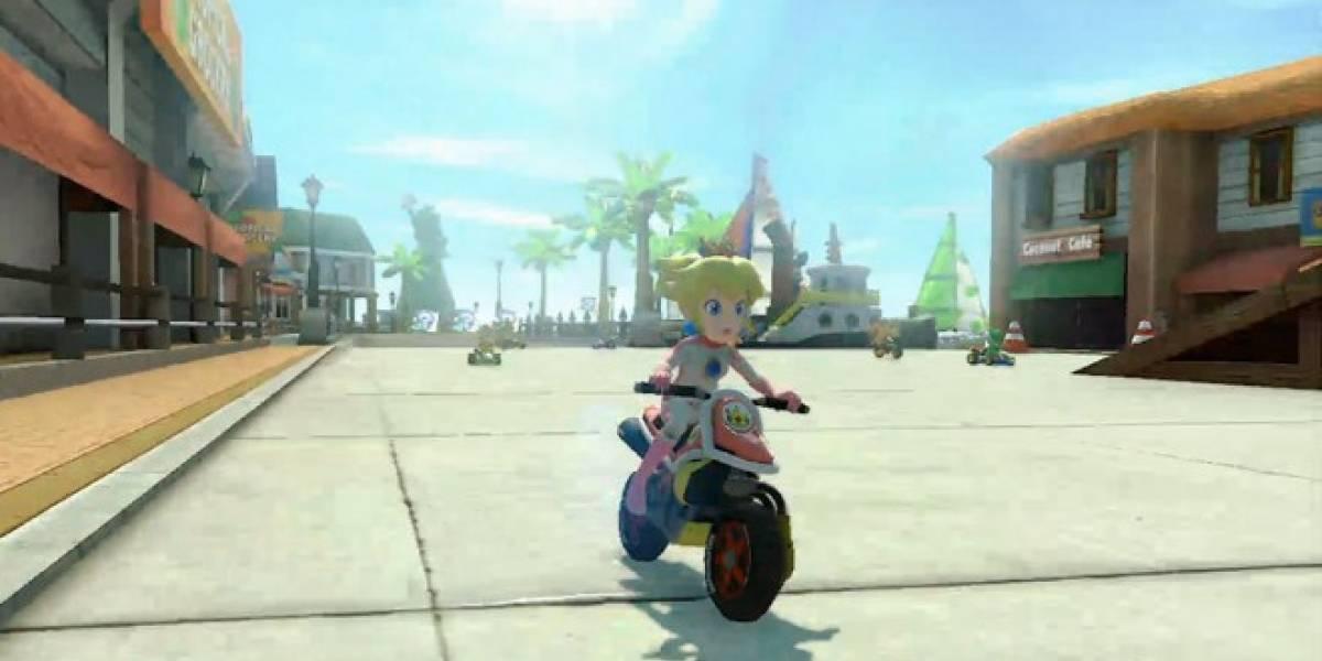 Mario Kart 8 llegará a Wii U con antigravedad en menos de un año #E3