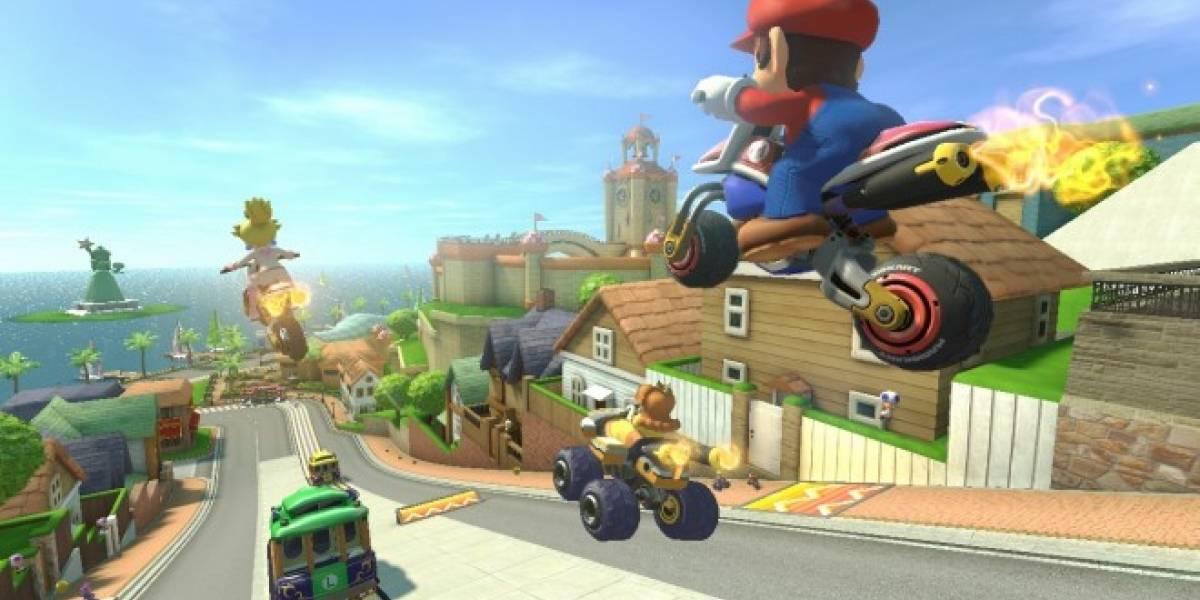 Mario Kart 8 llegará en mayo a Wii U