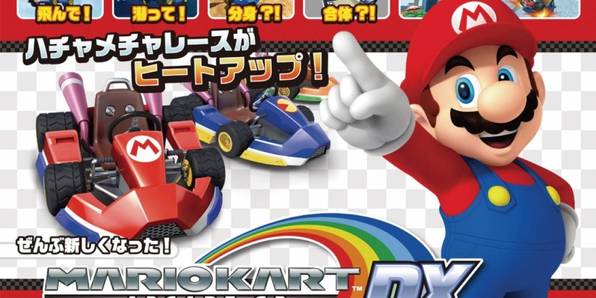 Vean a Mario Kart Arcade GP DX en acción