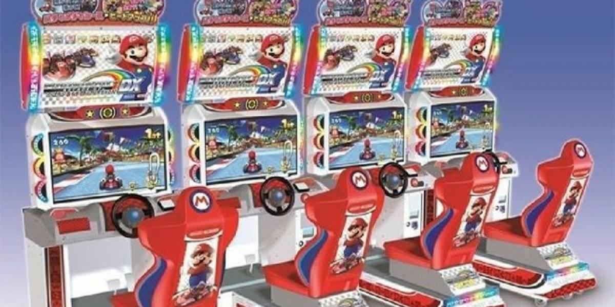Nintendo y Namco Bandai lanzarán otro juego de Mario Kart para arcadias