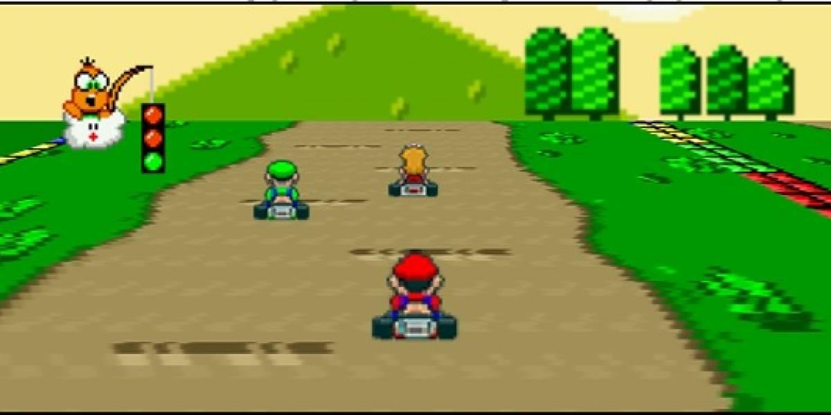 A perder el tiempo: Mario Kart en Javascript